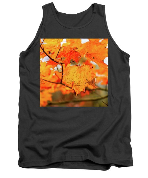 Fall Maple Leaf Tank Top