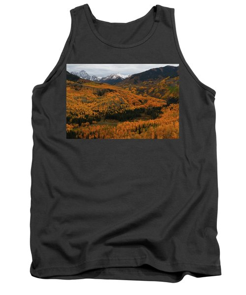 Fall On Full Display At Capitol Creek In Colorado Tank Top