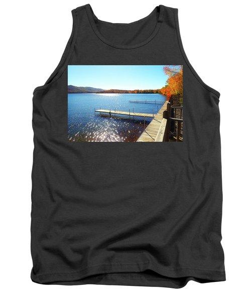 Fall On Lake Dunmore Tank Top