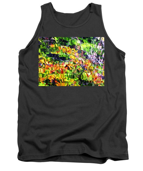 Fall On The Pond Tank Top by Melissa Stoudt