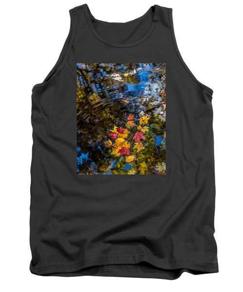 Fall Reflection - Pisgah National Forest Tank Top
