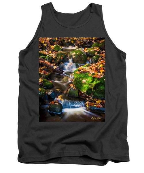 Fall Seasonal Water Cascade Tank Top