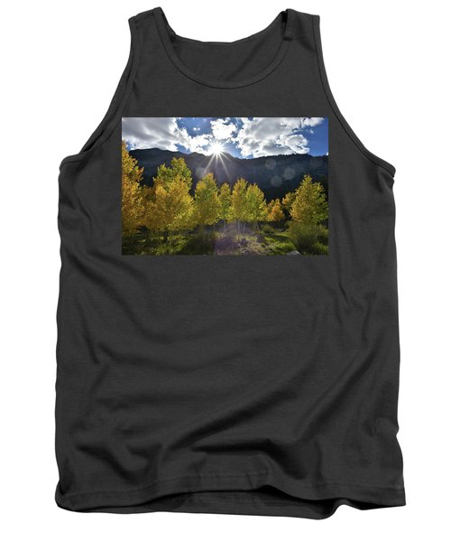 Fall Sun Setting Over Mt. Charleston Tank Top