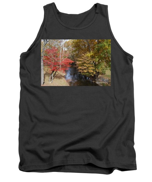 Tank Top featuring the photograph Fall Transition by Eric Liller