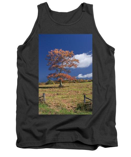 Fall Tree Tank Top