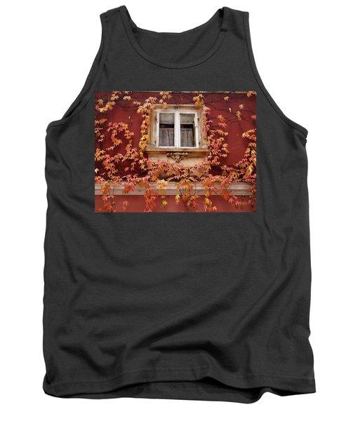 Fall Window,prague Tank Top