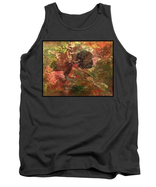 Tank Top featuring the mixed media Falling In Love  by Delona Seserman