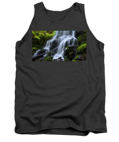 Tank Top featuring the photograph Falls by Chad Dutson