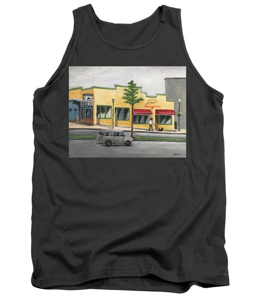 Tank Top featuring the painting Falls Church by Victoria Lakes