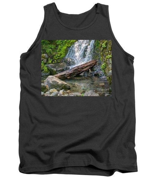 Falls Creek 0742 Tank Top by Chuck Flewelling