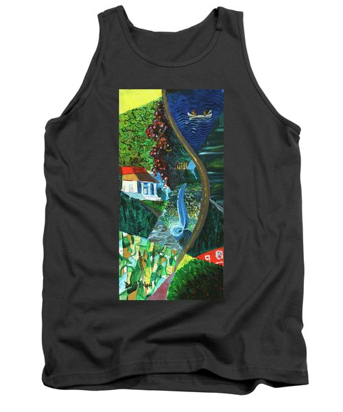 Falls, Fingers And Gorges Tank Top