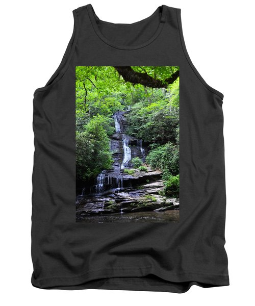 Falls Near Bryson City Tank Top