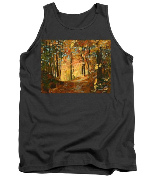 Fall's Radiance In Quebec Tank Top