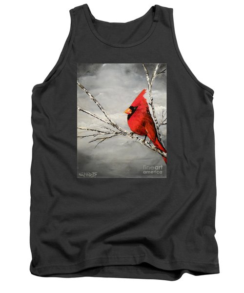 Tank Top featuring the painting Family Man by Chad Berglund