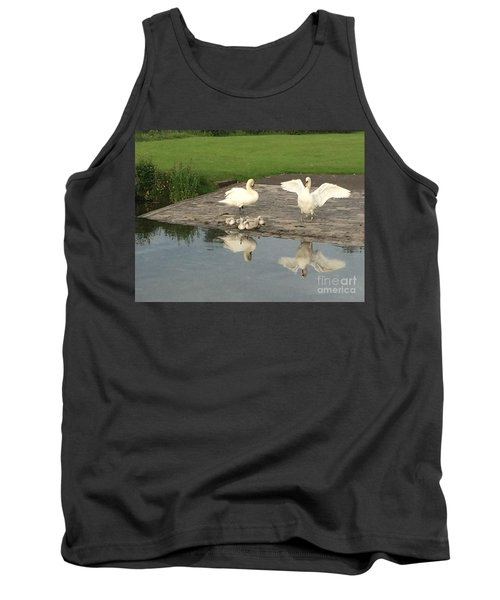 Family Outing Tank Top by David Grant