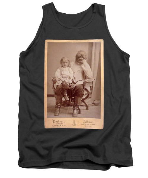 Famous Russian Sideshow Performer Jo-jo The Dog-faced Boy Tank Top