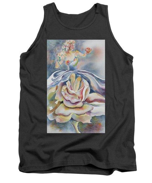 Fantasy Rose Tank Top