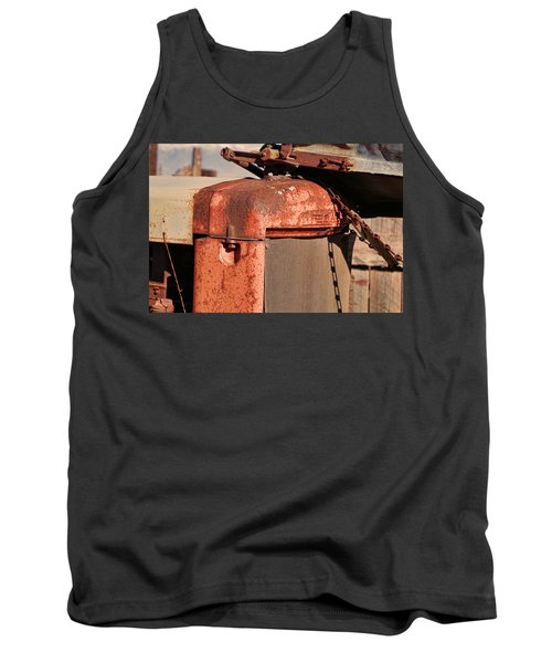 Tank Top featuring the photograph Farm Equipment 8 by Ely Arsha