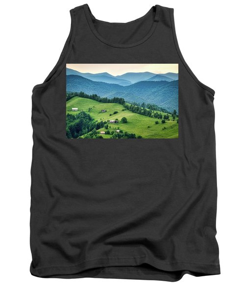 Farm In The Mountains - Romania Tank Top