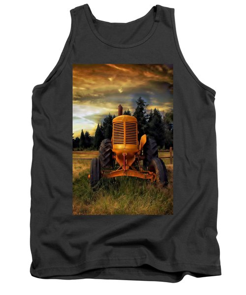 Tank Top featuring the photograph Farm On by Aaron Berg