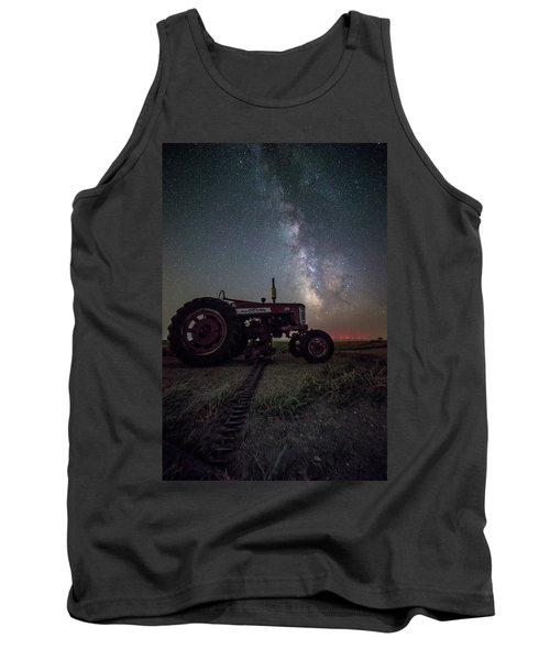 Tank Top featuring the photograph Farmall by Aaron J Groen