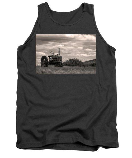Farmall Tank Top by Michael Friedman