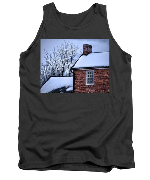 Tank Top featuring the photograph Farmhouse Window by Robert Geary
