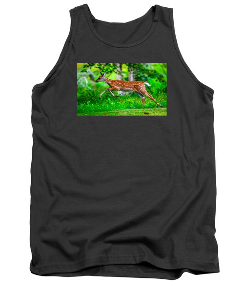 Tank Top featuring the photograph Fast Fawn 2 by Brian Stevens