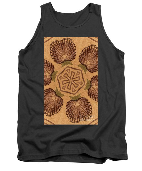Fat Pineapple And Star Tank Top