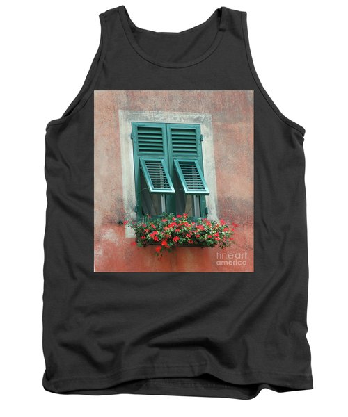 Faux  Painting Window  Tank Top