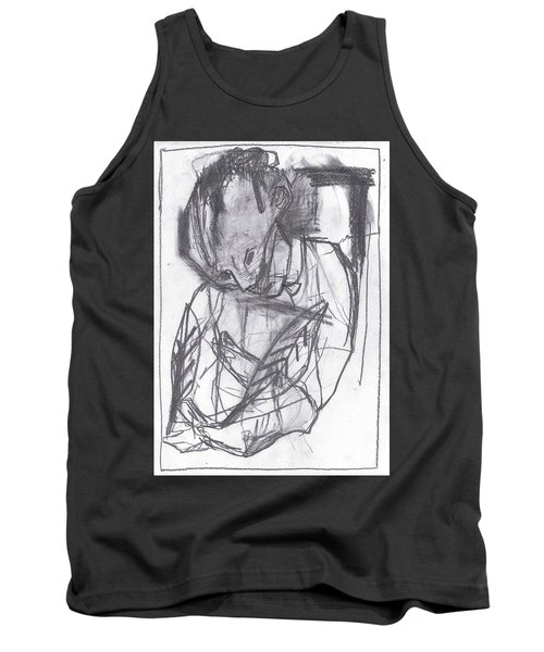 Feather Writer Tank Top