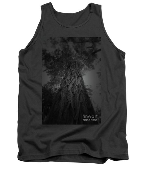 Feathered Bark Tank Top