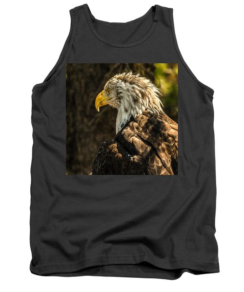 Tank Top featuring the photograph Feathers In Light by Yeates Photography