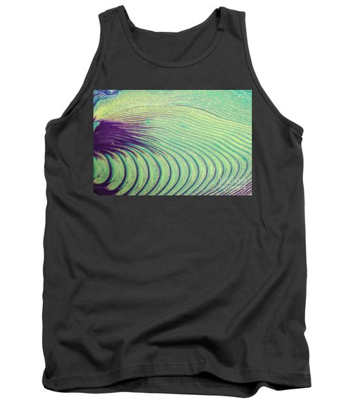 Feathery Ripples Tank Top