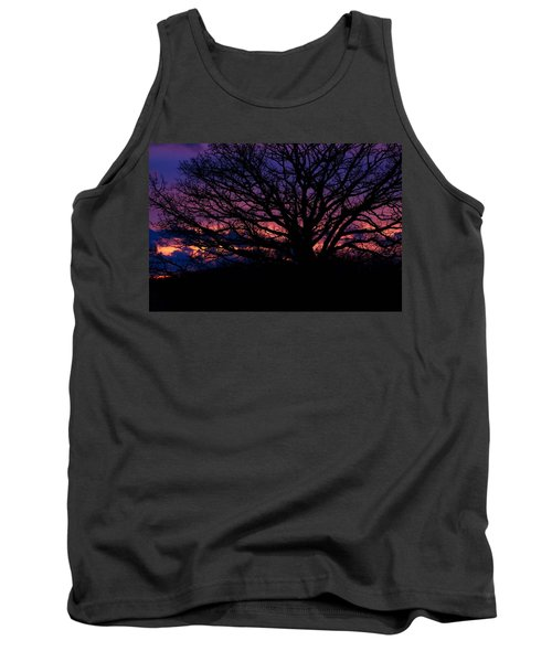February Sunset Tank Top