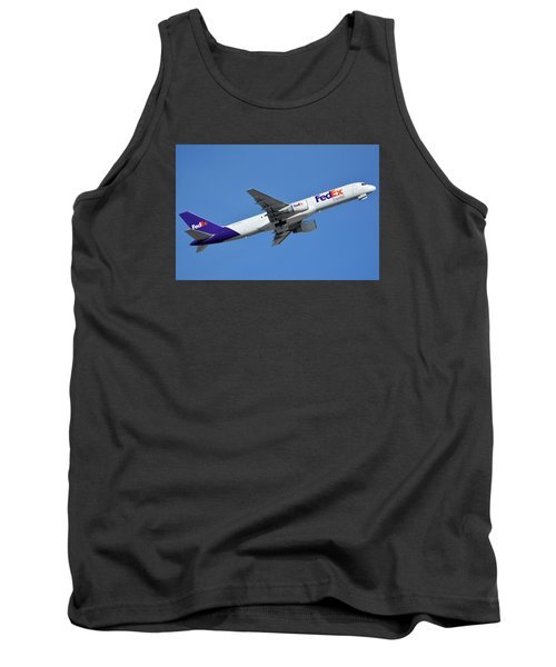 Fedex Express Boeing 757-230 N998fd Phoenix Sky Harbor January 19 2016  Tank Top