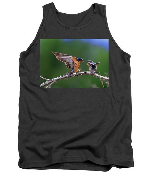 Tank Top featuring the photograph Feed Me by William Lee