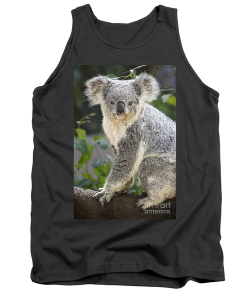 Female Koala Tank Top by Jamie Pham