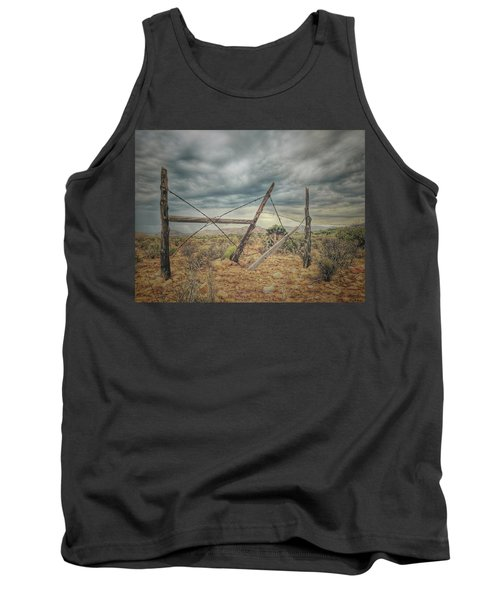 Fence Post Blues  Tank Top