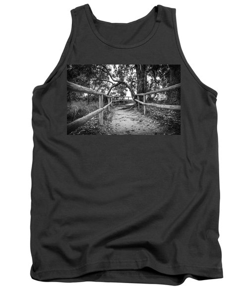 Fenced Pathway. Tank Top