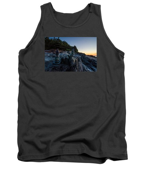 Tank Top featuring the photograph Feng Shui by Paul Noble