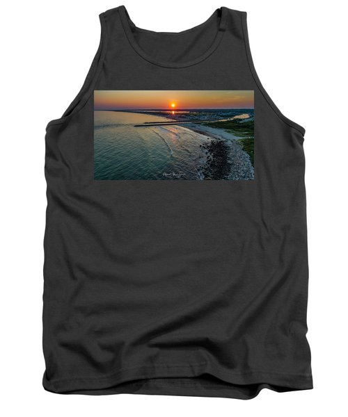 Fenway Beach Sunset Tank Top