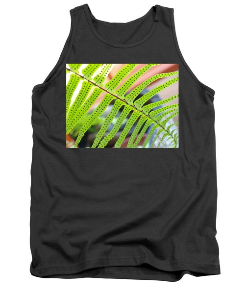 Tank Top featuring the photograph Fern by Trena Mara