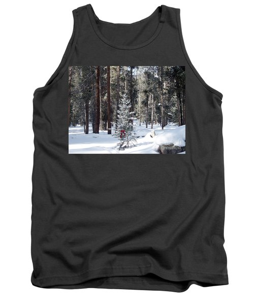 Festive Forest Tank Top