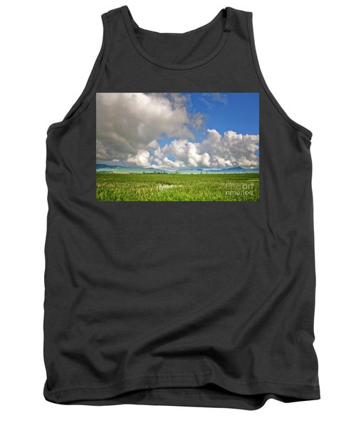 Tank Top featuring the photograph Field by Charuhas Images