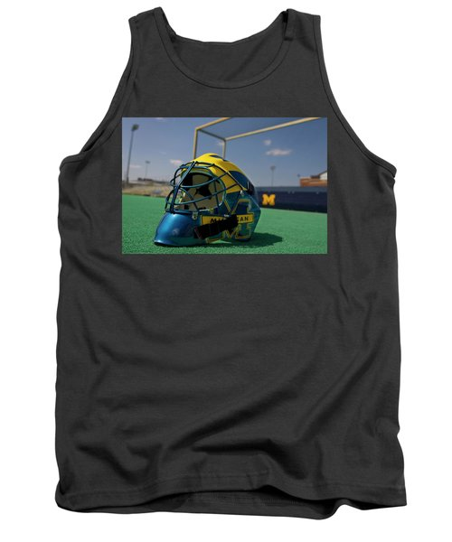 Field Hockey Helmet Tank Top
