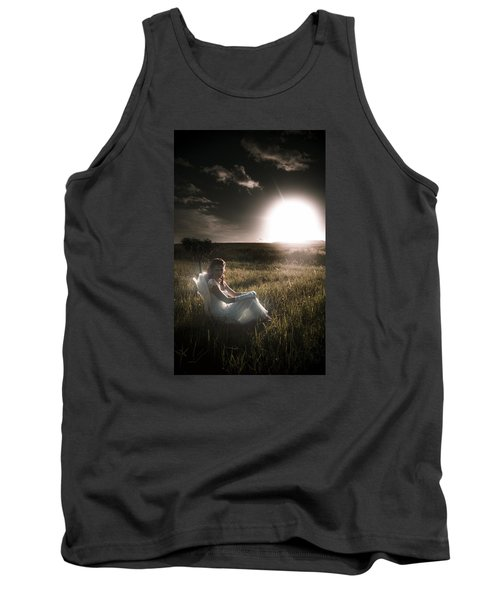 Tank Top featuring the photograph Field Of Dreams by Jorgo Photography - Wall Art Gallery