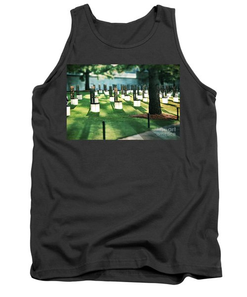Field Of Empty Chairs Tank Top