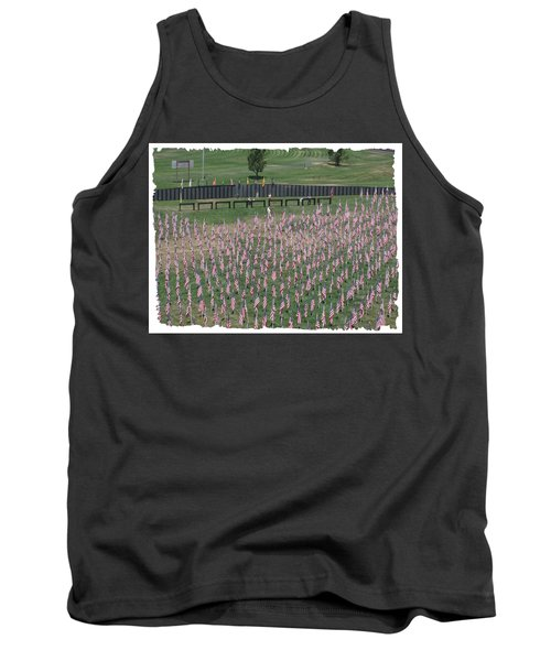 Field Of Flags - Gotg Arial Tank Top