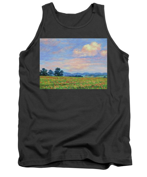 Field Of Flowers- Burkes Garden Fields Tank Top